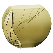 Evergreen 9 Inch Square Vase
