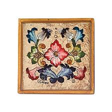 4-Piece Gemstone Sand 4 Inch Coaster Set