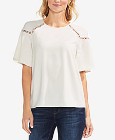Vince Camuto Cutout Top