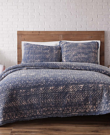 Brooklyn Loom Sand Washed Cotton Twin XL Quilt Set