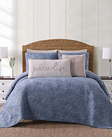 Oceanfront Resort Chambray Coast King Quilt Set