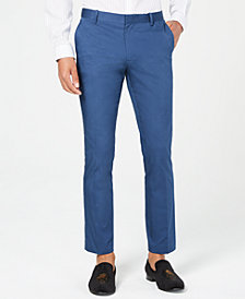 I.N.C. Men's Ultra Slim Stretch Pants, Created for Macy's