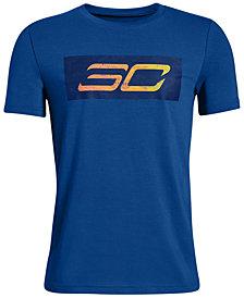 Under Armour Big Boys SC30-Print T-Shirt