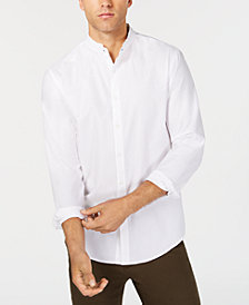 I.N.C. Men's Pindot Shirt, Created for Macy's
