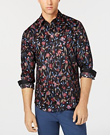 INC Men's Deryck Floral Shirt, Created for Macy's