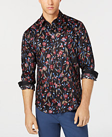 I.N.C. Men's Deryck Floral Shirt, Created for Macy's