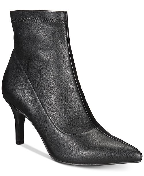 INC International Concepts I.N.C. Bray Sock Booties, Created for Macy's