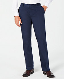 I.N.C. Men's Classic-Fit Twill Pants, Created for Macy's