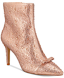 I.N.C. Ignacia Rhinestone Booties, Created for Macy's