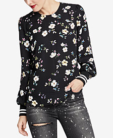 RACHEL Rachel Roy Dean Floral-Print Top, Created for Macy's