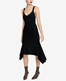 RACHEL Rachel Roy Katherine Strappy-Back Sweater Dress, Created for Macy's