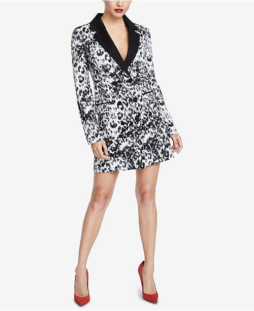 3d62849618e ... RACHEL Rachel Roy Printed Blazer Dress