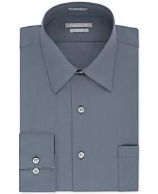 Men's Athletic Fit Poplin Dress Shirt