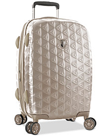 "Heys Motif Homme 21"" Hardside Carry-On Spinner Suitcase"
