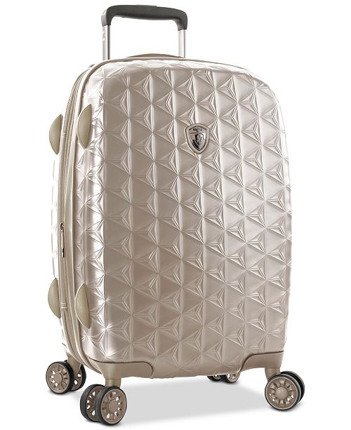 "Heys CLOSEOUT! Motif Homme 21"" Hardside Carry-On Spinner Suitcase"