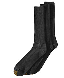 Gold Toe Men's 3-Pk. Extended-Size Socks