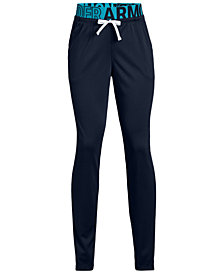 Under Armour Big Girls Tech Pants
