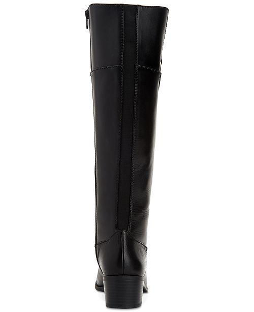 a12bf0f5e53a ... Alfani Women s Step  N Flex Briaah Wide-Calf Riding Boots