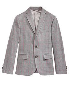 Lauren Ralph Lauren Big Boys Windowpane Jacket
