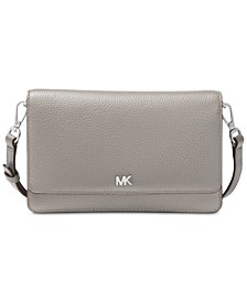 Mott Pebble Leather Phone Crossbody Wallet