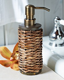 CLOSEOUT! Tommy Bahama Retreat Wicker Lotion Dispenser