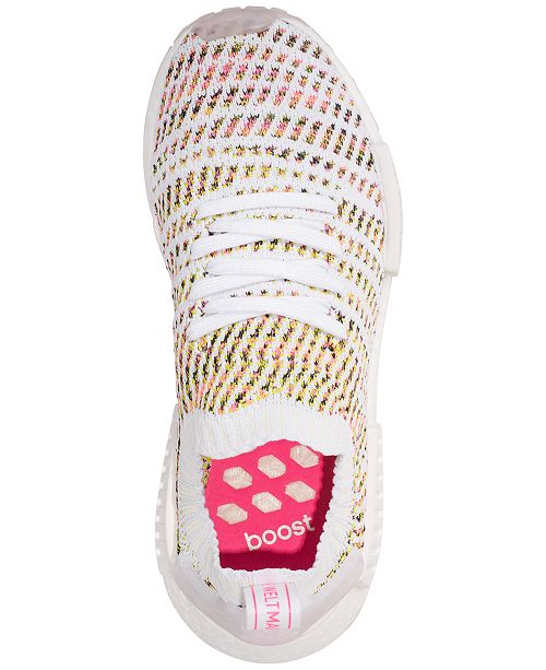 204bcf7738c8b ... adidas Women s NMD R1 STLT Primeknit Casual Sneakers from Finish ...