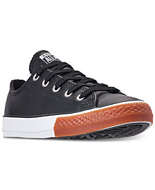 Converse Little Boys' Chuck Taylor Ox Gum Casual Sneakers from Finish Line