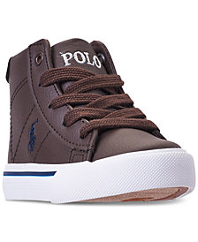 Polo Ralph Lauren Toddler Boys' Easten Mid Casual Sneakers from Finish Line
