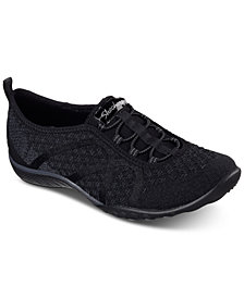 Skechers Women's Relaxed Fit: Breathe Easy - Fortuneknit Wide Width Casual Walking Sneakers from Finish Line