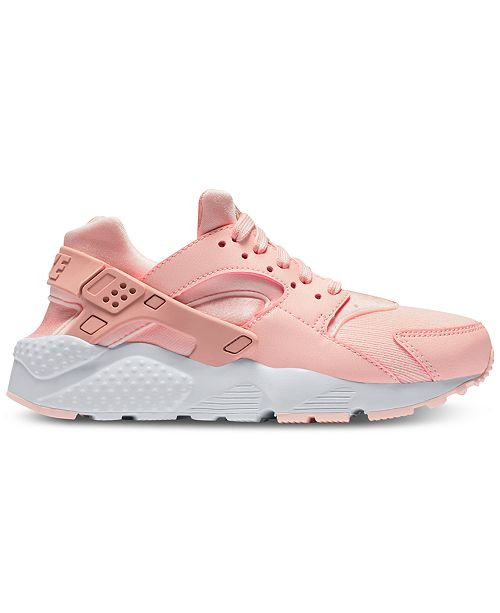 8f406c7b51bca ... Nike Girls  Air Huarache Run SE Running Sneakers from Finish Line ...