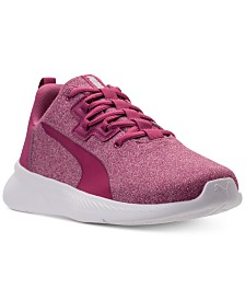 5945434560b4 Puma Women s Tishatsu Runner Knit Athletic Sneakers from Finish Line