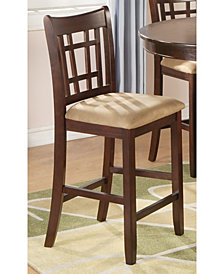 Fieldston Transitional Counter Height Chair ,Set of 2