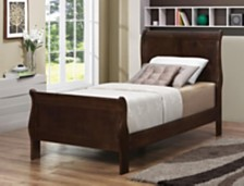 Queensbridge Traditional Twin Sleigh Bed
