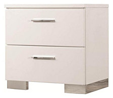 Stapleton Contemporary Two-Drawer Nightstand