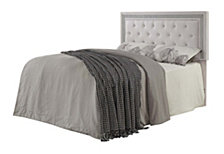 Parkway Contemporary Full-Queen Upholstered Headboard, Quick Ship