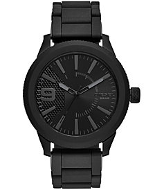 Diesel Men's Rasp NSBB Black Stainless Steel Bracelet Watch 50mm