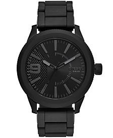 Diesel Men's Rasp NSBB Black Stainless Steel Bracelet Watch 50mm