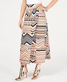 Thalia Sodi Multi-Print Wrap Maxi Skirt, Created for Macy's