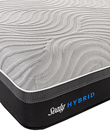 "Sealy Kelburn II 13"" Hybrid Cushion Firm Mattress- Queen"