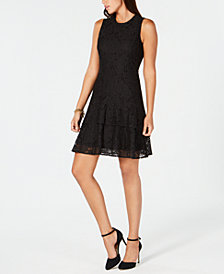 MICHAEL Michael Kors Fit & Flare Dress, In Regular & Petites