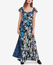 Free People Floral-Print Maxi Dress