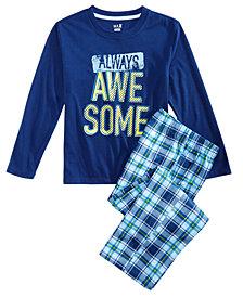 Max & Olivia Little & Big Boys 2-Pc. Always Awesome Pajama Set