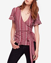 8894ace63568 Free People Wrapped Around My Finger Cotton Striped Top