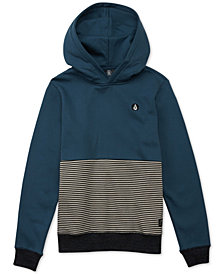 Volcom Big Boys Threezy Colorblocked Hoodie