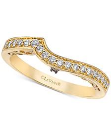 Chocolatier® Diamond Wave Band (1/5 ct. t.w.) in 14k Gold