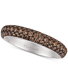 Le Vian Chocolatier® Diamond Pavé Band (9/10 ct. t.w.) in 18k White Gold
