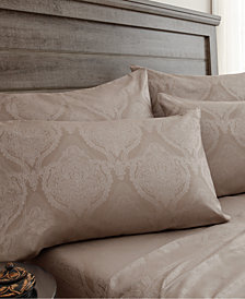 800 Thread Count 6-Pc. Jacquard Full Sheet Set