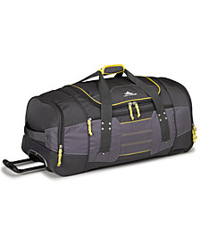 "High Sierra Acc 2.0 30"" Wheeled Duffel Bag"