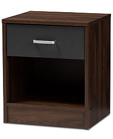 Remie 1-Drawer Nightstand, Quick Ship