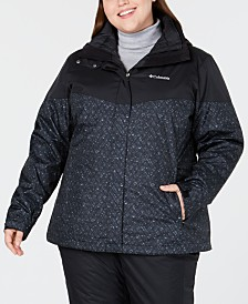 Columbia Plus Size Loon Ledge™ Waterproof Interchange Jacket